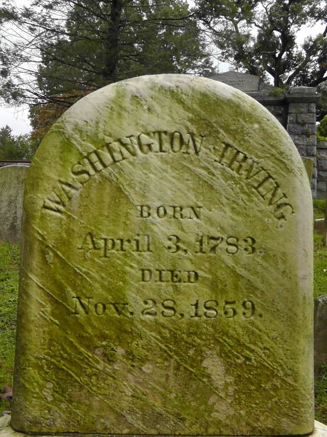 washington irving, sleepy hollow, new york, graveyard, travel, travelogue, ailsa prideaux-mooney