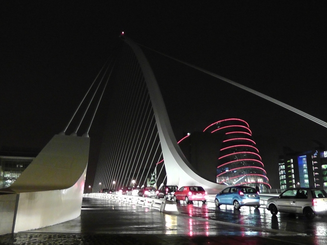 Beckett Bridge, Dublin, Convention Centre. Ailsa Prideaux-Mooney