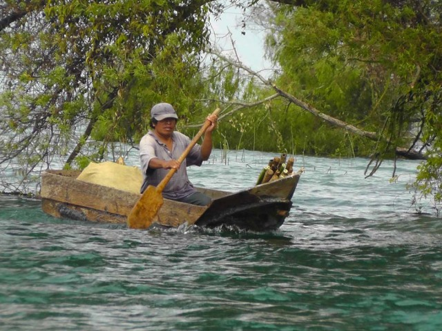 lake atitlan, guatemala, wooden boat, travel, travelogue, ailsa prideaux-mooney