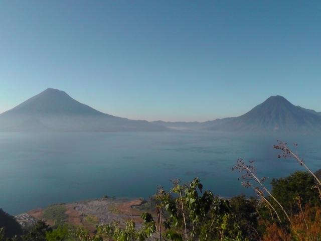 lake atitlan, guatemala, toliman, atitlan, san pedro. volcano, travel, ailsa prideaux-mooney
