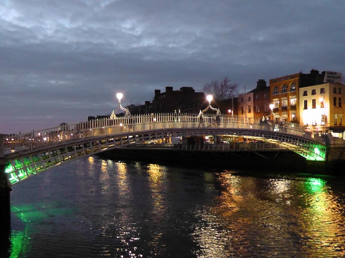 Christmas In Dublin Where S My Backpack