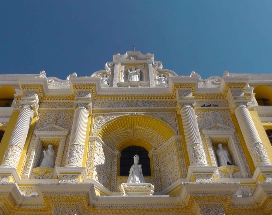 Iglesia de Nuestra Senora de La Merced, guatemala, antigua, architecture, latin america, travel, ailsa prideaux-mooney
