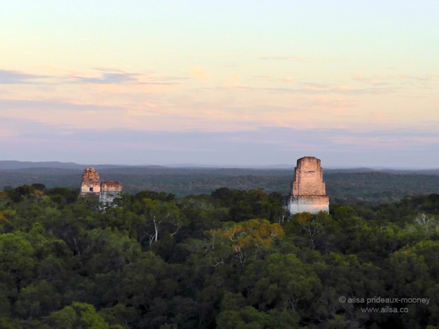 stone temples, tikal, mayan ruins, maya, ancient temples, guatemala, travel, travelogue, ailsa prideaux- mooney, photography