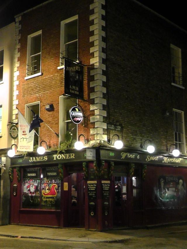 toner's, baggot street, dublin, pubs, ireland, ailsa prideaux-mooney