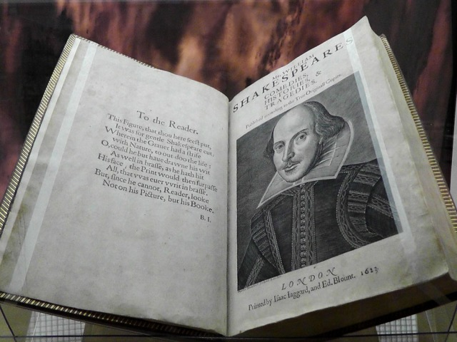 First Folio, Shakespeare, Beinecke, travel, travelogue, Ailsa Prideaux-Mooney