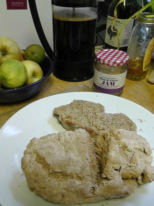 irish soda bread recipe, brown bread, new york, travel, travelogue, food, ailsa prideaux-mooney