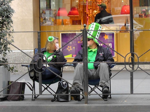 new york st patrick's day parade, travel, travelogue