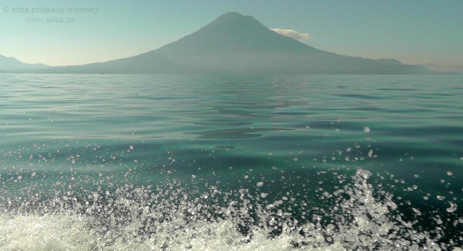 blue lake atitlan Atitlán Guatemala