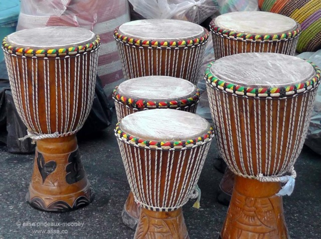 street market drums