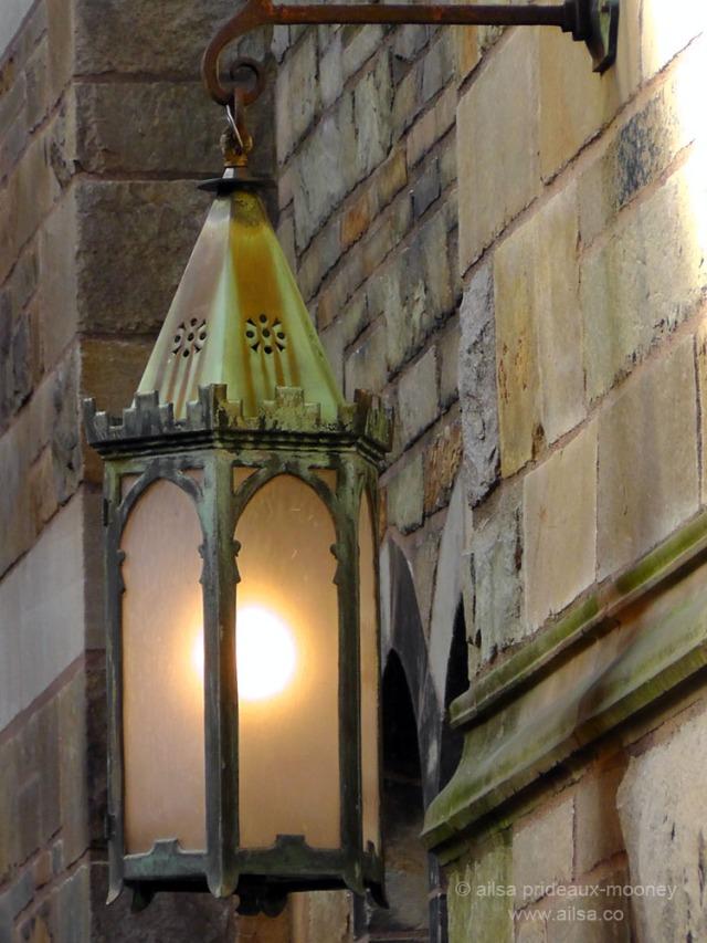 yale university lantern