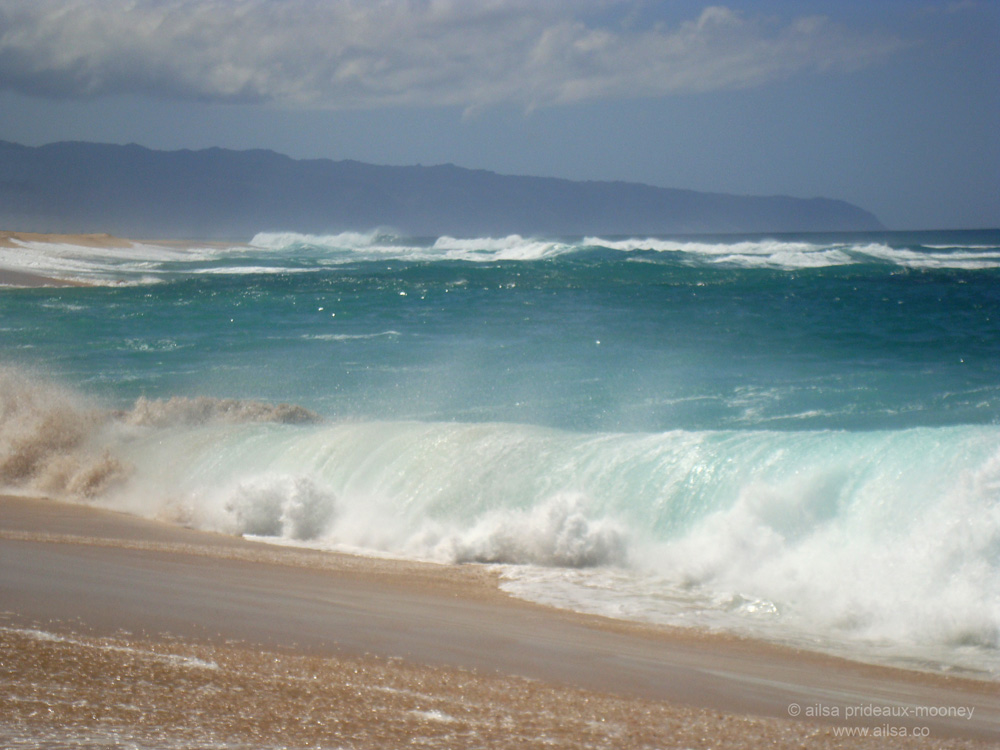 Travel theme: Oceans | Where's my backpack? Pacific Ocean Waves