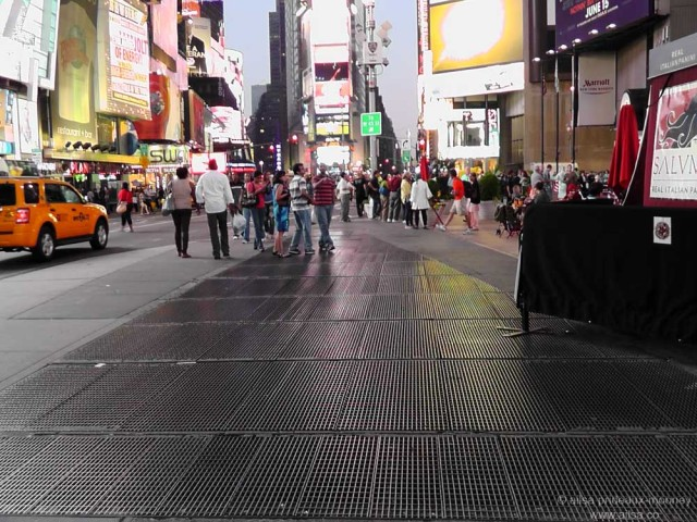 Times Square's secret sound installation, sound installation, max neuhaus, times square
