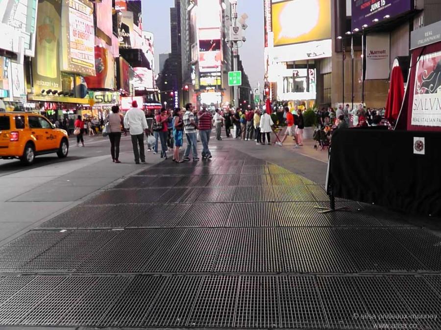 Times Square's secret sound installation, sound installation, max neuhaus, times square