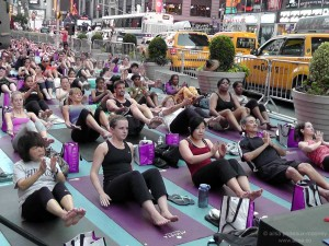summer solstice new york times square