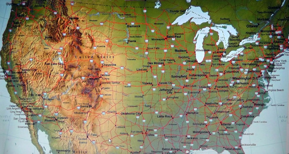 travel plans map us