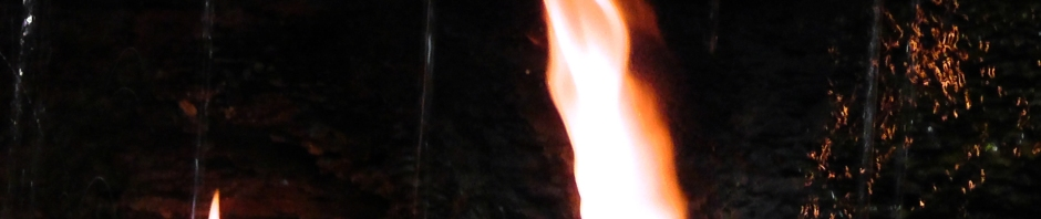 eternal flame falls new york shale creek preserve chestnut ridge park