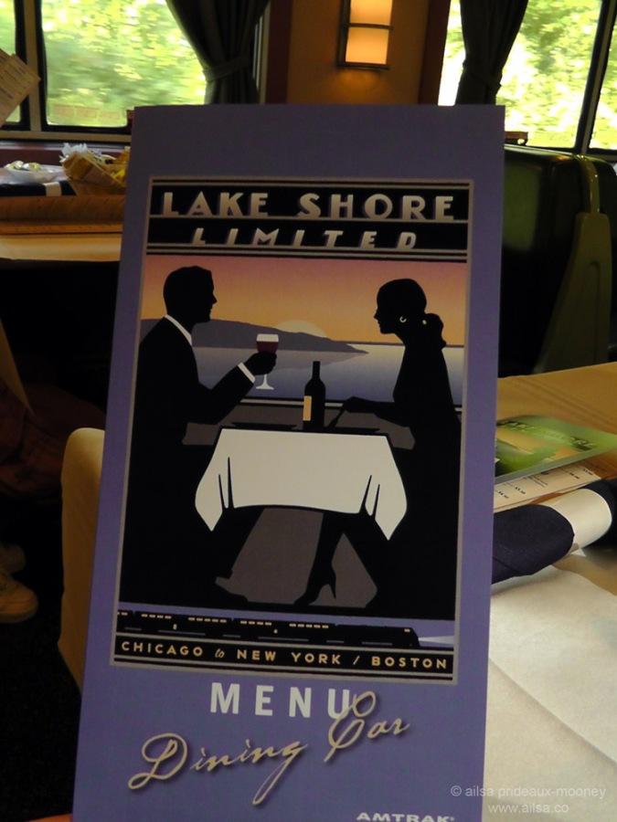 Lake Shore Limited Amtrak USA train journey