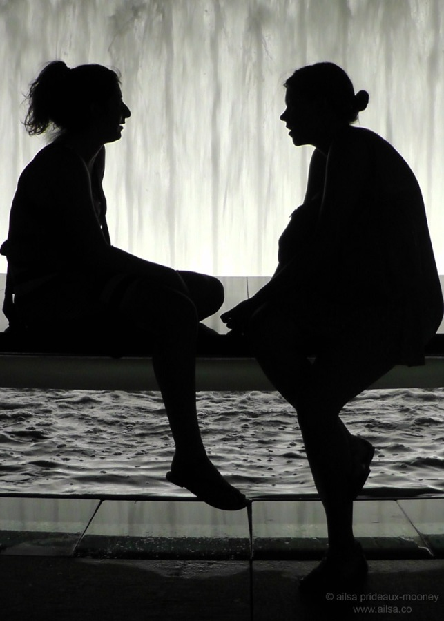 silhouette fountain lincoln center new york