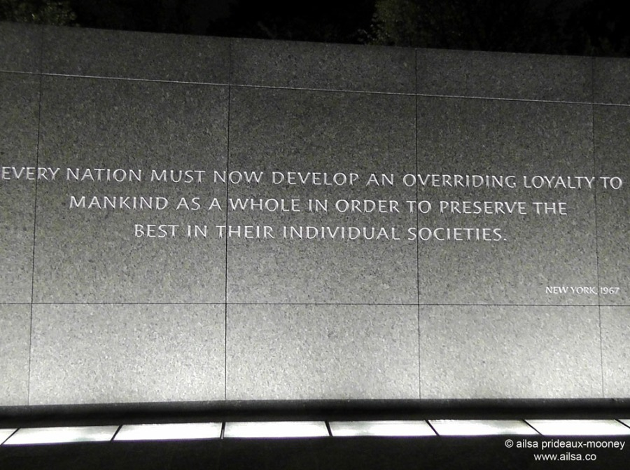 martin luther king quote washington dc memorial