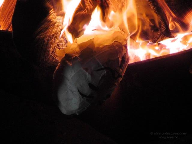 guy fawkes burning bonfire november fifth night seattle golden gardens