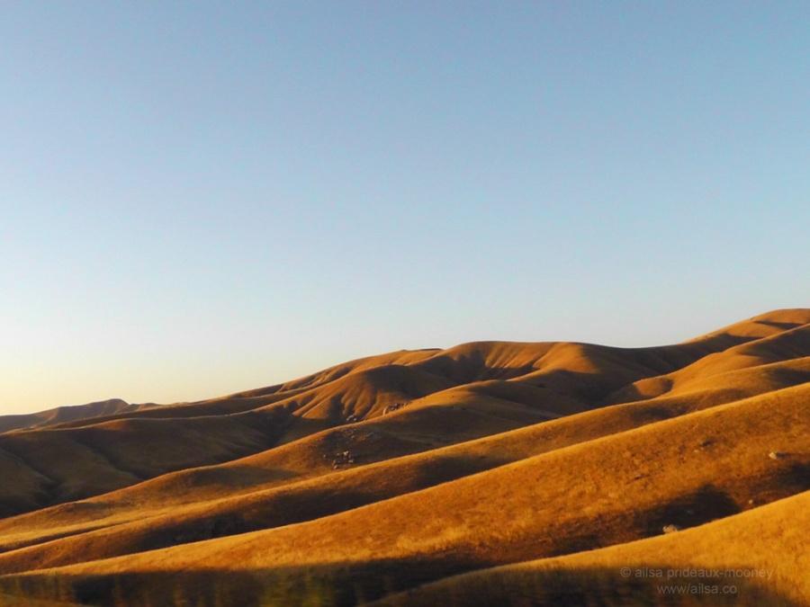 california road trip us usa america hills countryside road trip