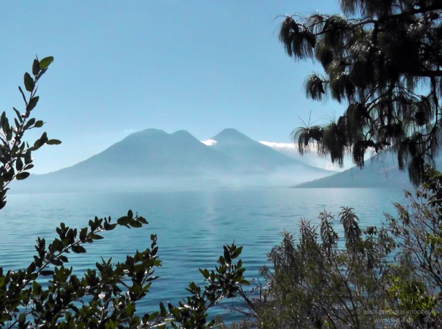 lake atitlan volcano toliman san pedro san marcos
