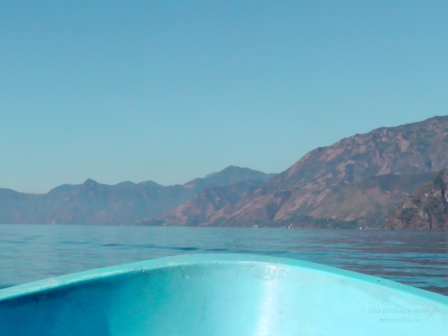 lake atitlan guatemala boat travel