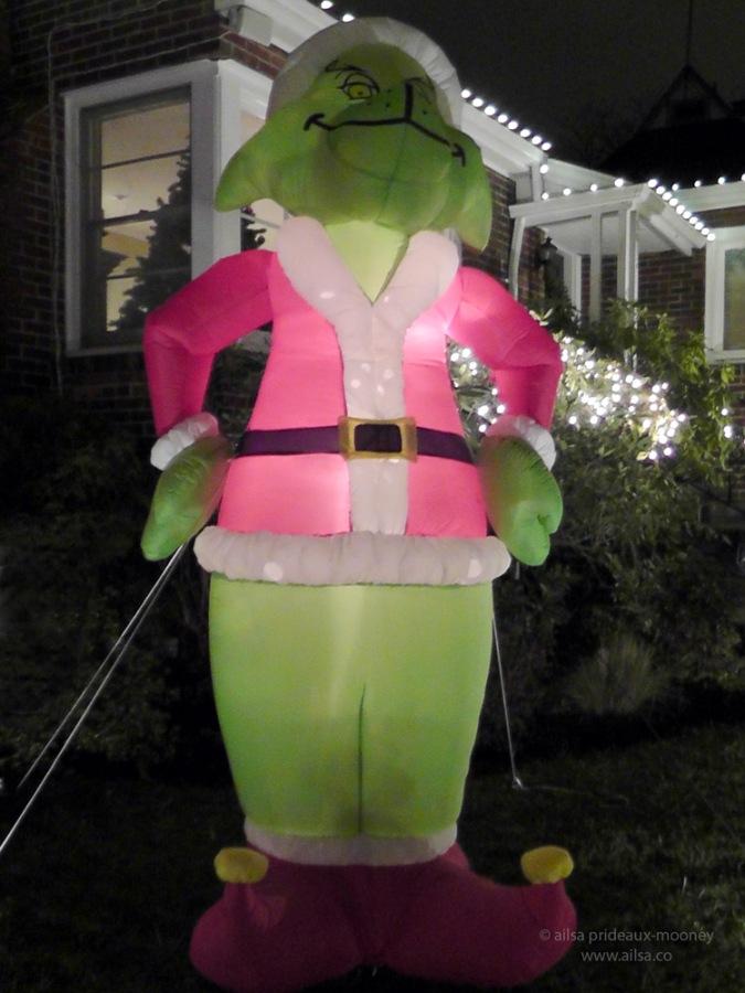 candy cane lane seattle washington us usa america christmas holidays lights grinch