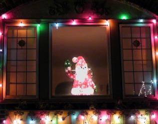candy cane lane seattle washington us usa america christmas holidays lights