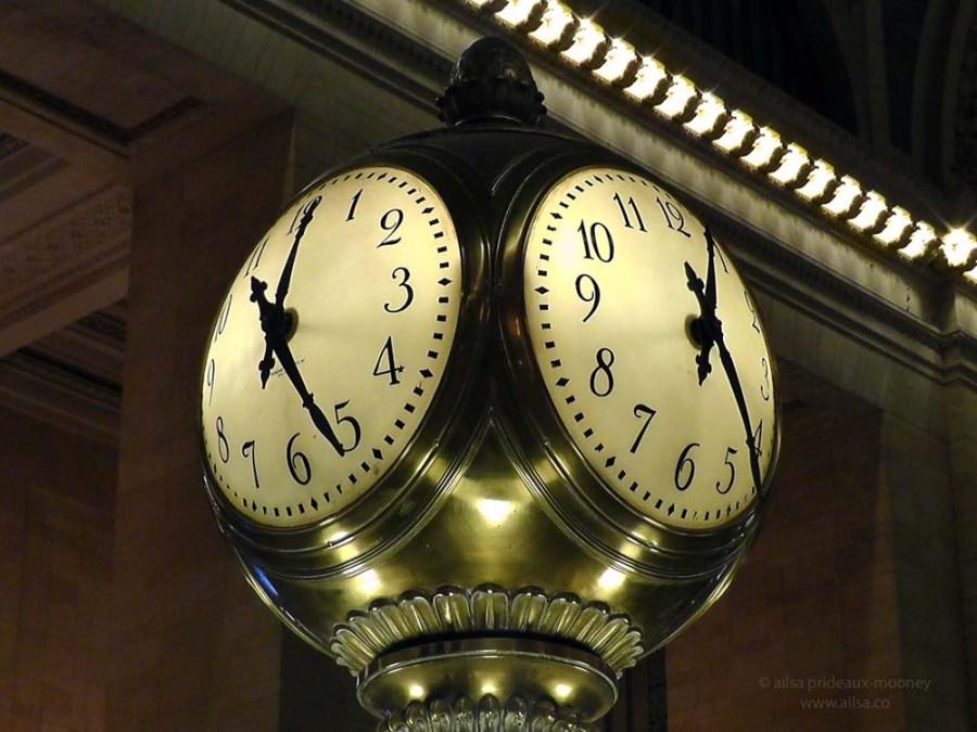 grand central terminal station clock new york us usa america