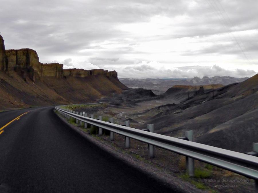 utah highway 24 road trip us usa america