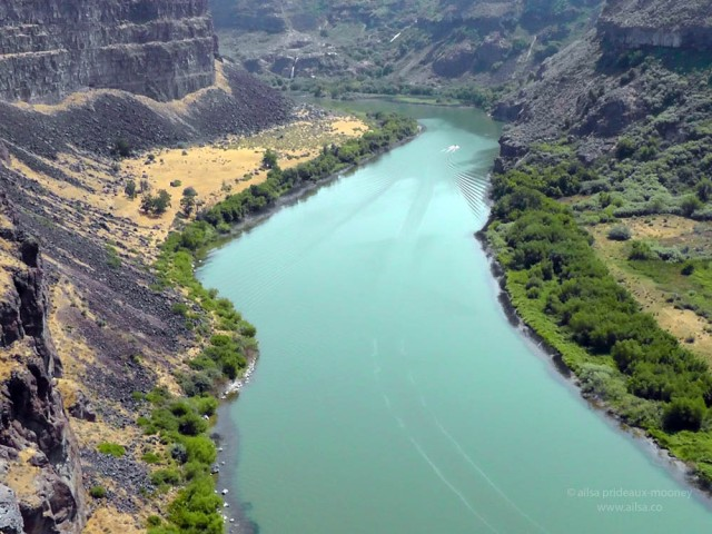 snake river twin falls idaho us usa america road trip