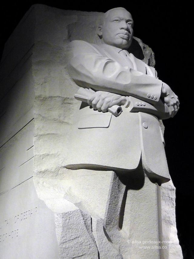 martin luther king memorial, washington dc, travel, travelogue, ailsa prideaux-mooney
