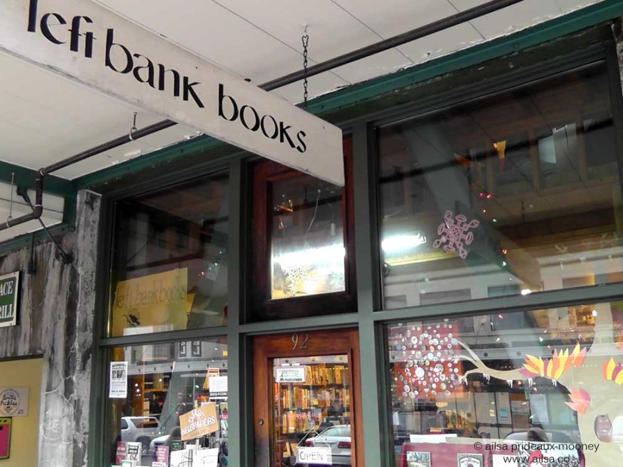 left bank books, seattle, pike place market, travel, travelogue, photography, ailsa prideaux-mooney