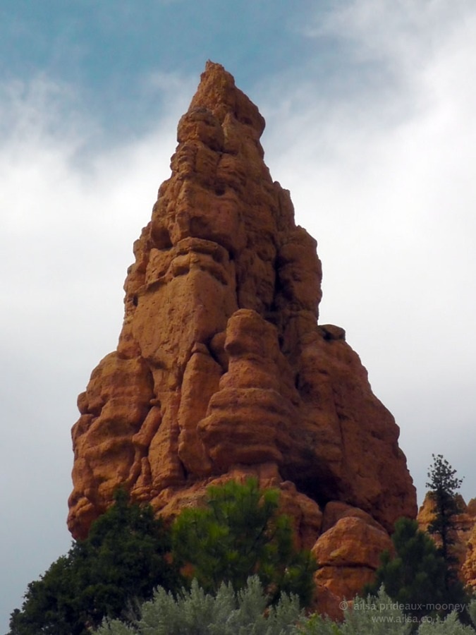 red canyon utah hoodoo