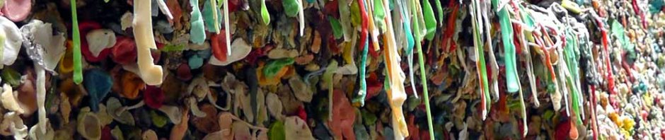 seattle pike place market lower post alley market theatre gum wall