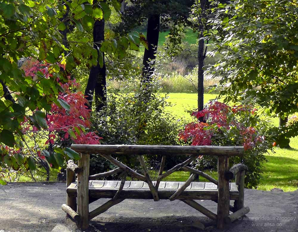 Travel theme benches where 39 s my backpack - Manhattan beach botanical garden ...