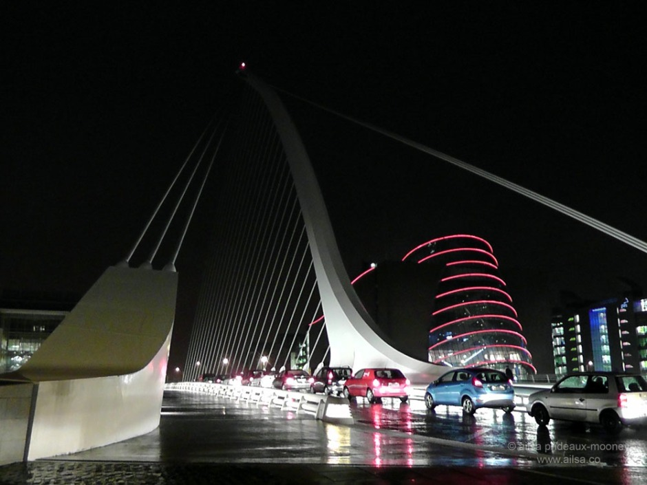 dublin ireland beckett bridge travel