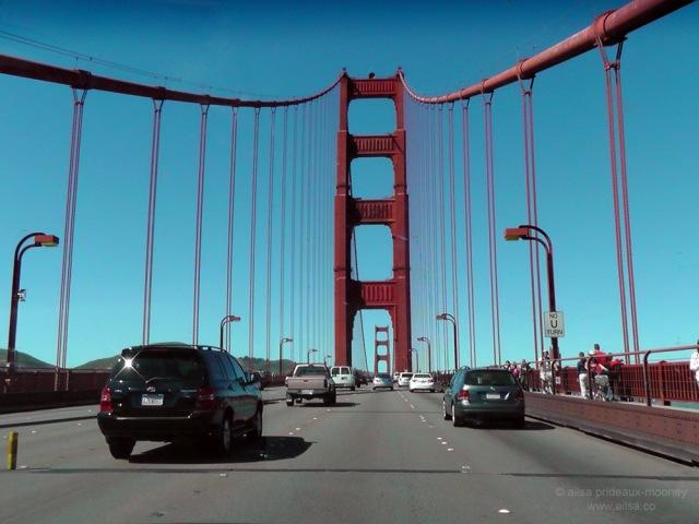 golden gate bridge international orange san francisco us usa america road trip travel