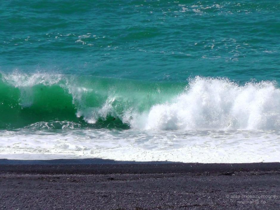lost coast shelter cove california us usa america road trip driving black sand beach travel
