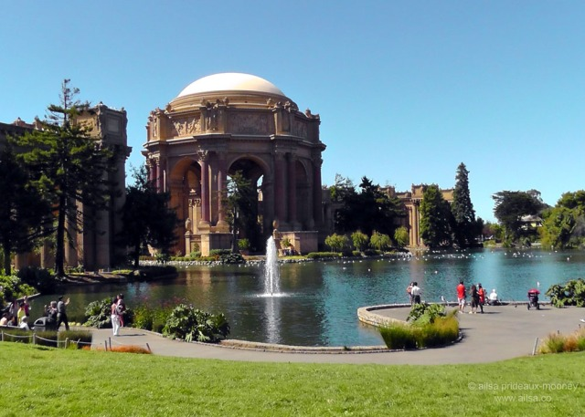 palace of fine arts san francisco us usa america road trip