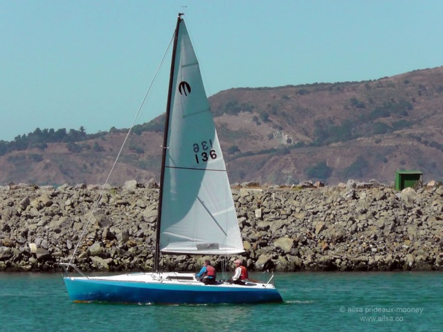 sailboat boat sailing San Francisco Bay us usa america road trip
