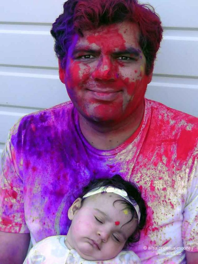 holi, holi festival, festival of color, festival of colour, travel, ailsa prideaux-mooney, maple valley, travelogue, photography