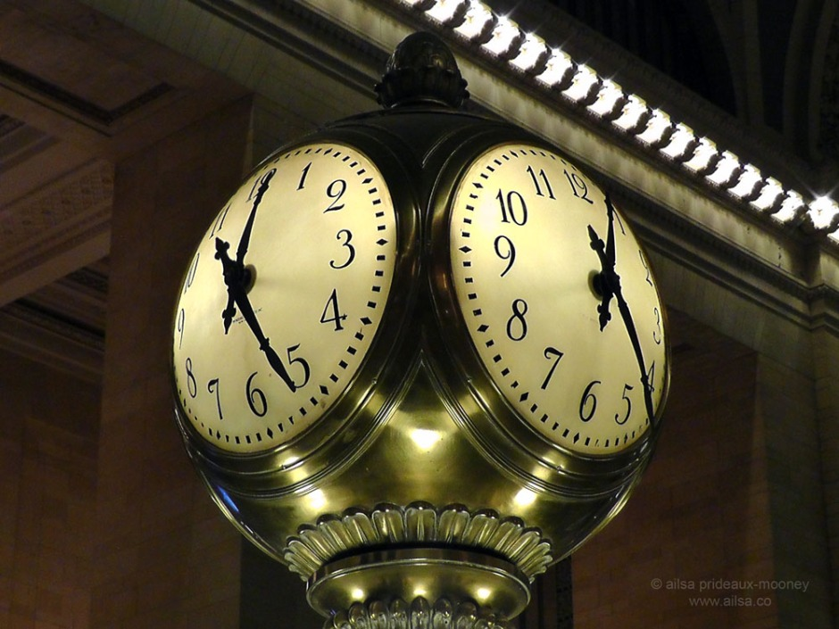 grand central terminal, grand concourse, grand central clock, new york, ailsa prideaux-mooney, travel