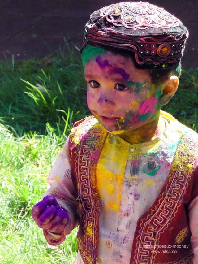 holi, holi festival, festival of color, festival of colour, travel, ailsa prideaux-mooney, maple valley