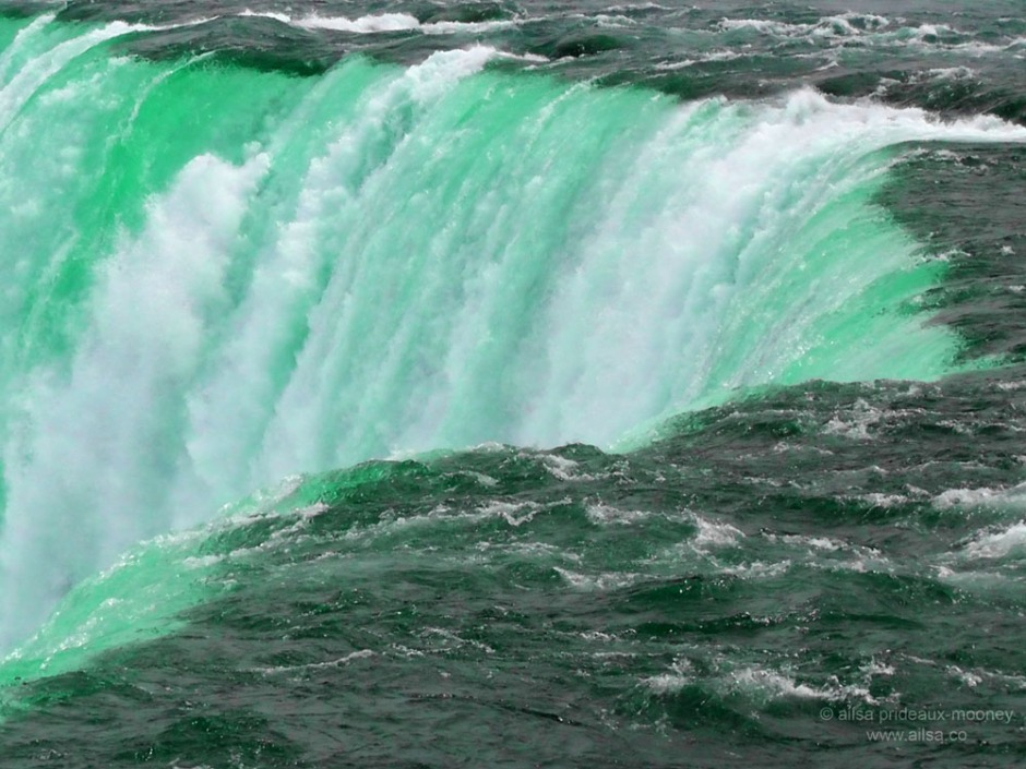 niagara falls, canada, waterfall, green water, travel, road trip, usa, america