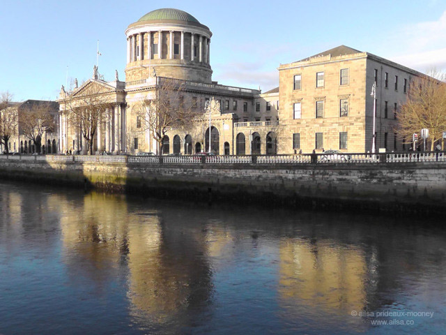 dublin, ireland, four courts, travel, ailsa prideaux-mooney, travel photography, europe