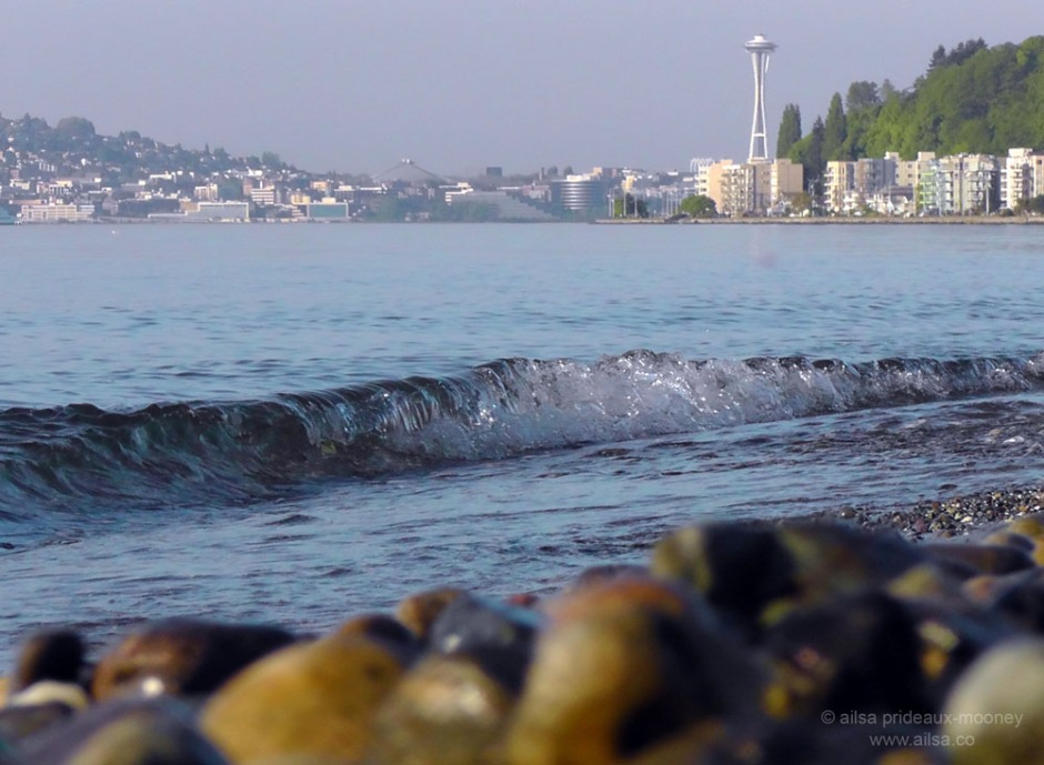 seattle, space needle. alki, alki beach, travel, photography, ailsa prideaux-mooney