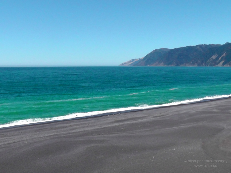 lost coast, black sands, beach, california, travel, photography, ailsa prideaux-mooney, travelogue