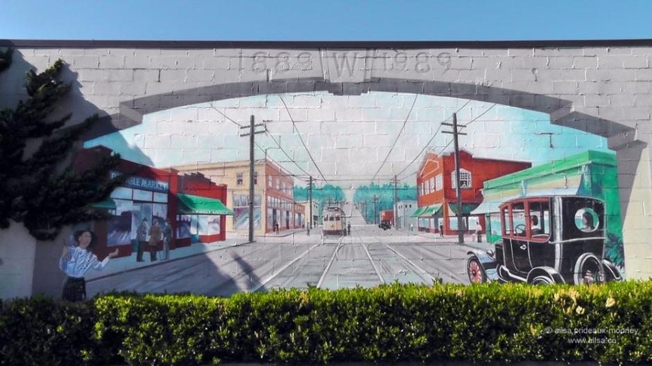 west seattle murals, travel, photography, ailsa prideaux-mooney,